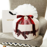 Baby gift set full moon clothes princess gifts high-grade newborn supplies age dress dress autumn