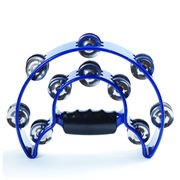 Alice KTV handbell double ring tambourine professional flower tambourine drum circle bar to help the rattle percussion instrument