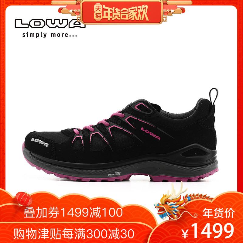 LOWA户外徒步防水越野跑鞋女INNOX EVO GTX运动低帮鞋L320616 027