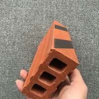 Minnan features clear water brick red brick red brick red exterior wall brick hollow brick factory outlet welcome to buy