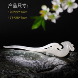 Yuyou and Tian Yu Hanfu ancient style hairpin hair accessories stepping jade phoenix phoenix white jade scorpion with certificate