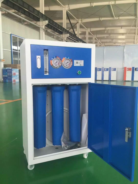 包邮400加仑蓝白商用净水机RO反渗透净水器工厂学校办公楼纯水机
