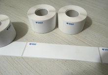 China Telecom Equipment Label Room Network Cabling Engineering Label 35*150 Fiber Box Label Can't Tear Up