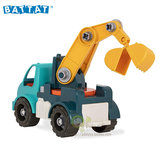 Battat assembly crane, Canada, detachable assembly crane, electric screwdriver puzzle toy
