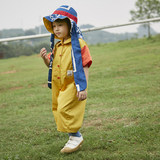 Littledomi children's wear 19S colour-bumping pants, overalls, overalls, open-button boys'and girls' fashion pants 19s18