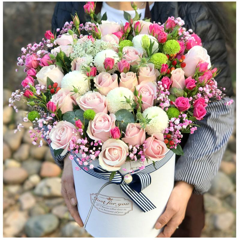 高档礼盒鲜花