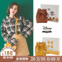 Grace gift迪士尼女包新品小包包学生单肩包斜挎包卡通可爱mini包