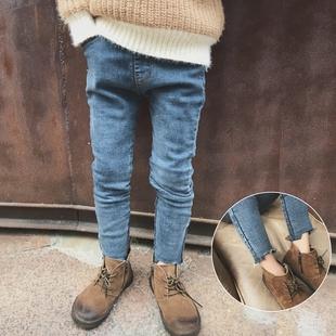 牛仔铅笔裤男童