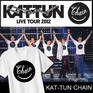 24時間テレビ翔桑龟梨和也KAT-TUN2012演唱会同款T恤 亀と山P应援