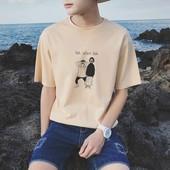 九块九夏装 衣服 9.9元 t恤韩版 体恤潮流男装 修身 青少年短袖