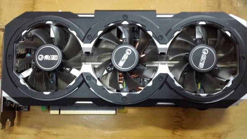 影驰GTX1080 8GB 骨灰大将 二手显卡  秒杀 980TI   1070