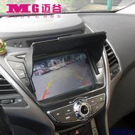 通用型汽车GPS导航仪遮阳板遮阳罩屏幕遮光罩遮光板显示屏挡光板