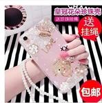 小米mix2s手机壳mix2保护套个性创意软硅胶全包防摔女款潮钻2S壳