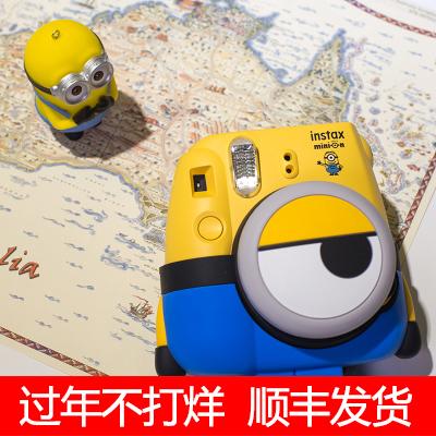 富士立拍立得mini8小黄人相机套餐含拍立得相纸mini9/7c/7S升级款