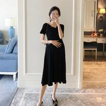新款长袖孕妇装春秋韩版时尚2016孕妇裙子短袖连衣裙夏季T.e.mami