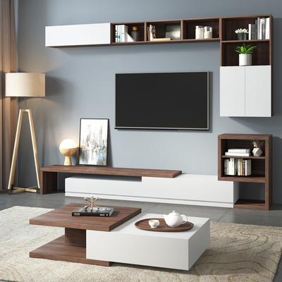 现代电视墙柜