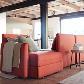 LOVE宜家IKEA瓦伦图三人沙发布艺沙发欧式家居超大沙发多色可选