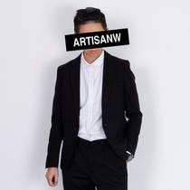 韩版修身西装套装男士商务休闲青少年小西服外套结婚礼服职业正装