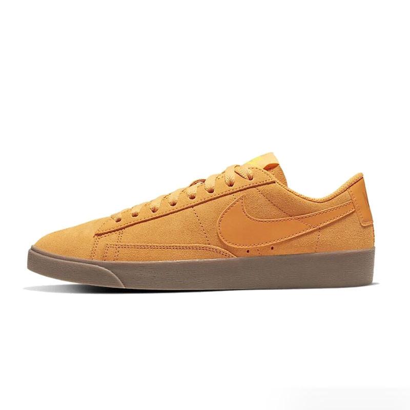 耐克女鞋2020春季新款低帮运动鞋滑板鞋翻毛皮休闲鞋AV9373-800