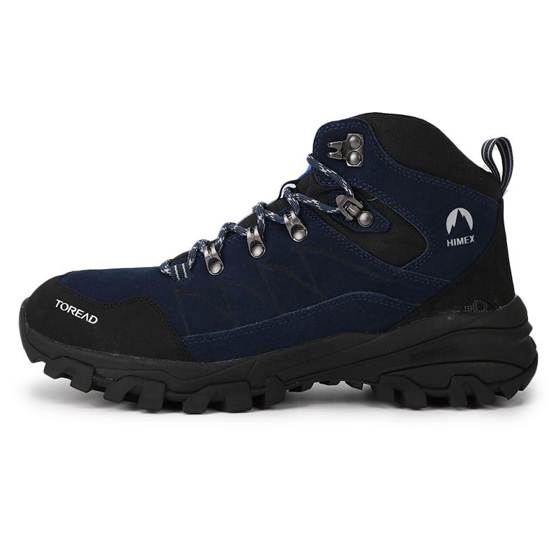 探路者男鞋2019冬季新款户外徒步越野运动鞋高帮登山鞋TFBH91010