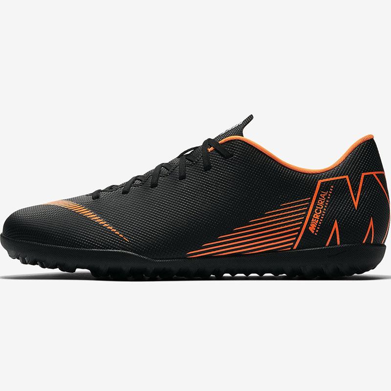 Nike耐克男鞋2020春季新款低帮防滑TF碎钉足球鞋运动鞋AH7386-081
