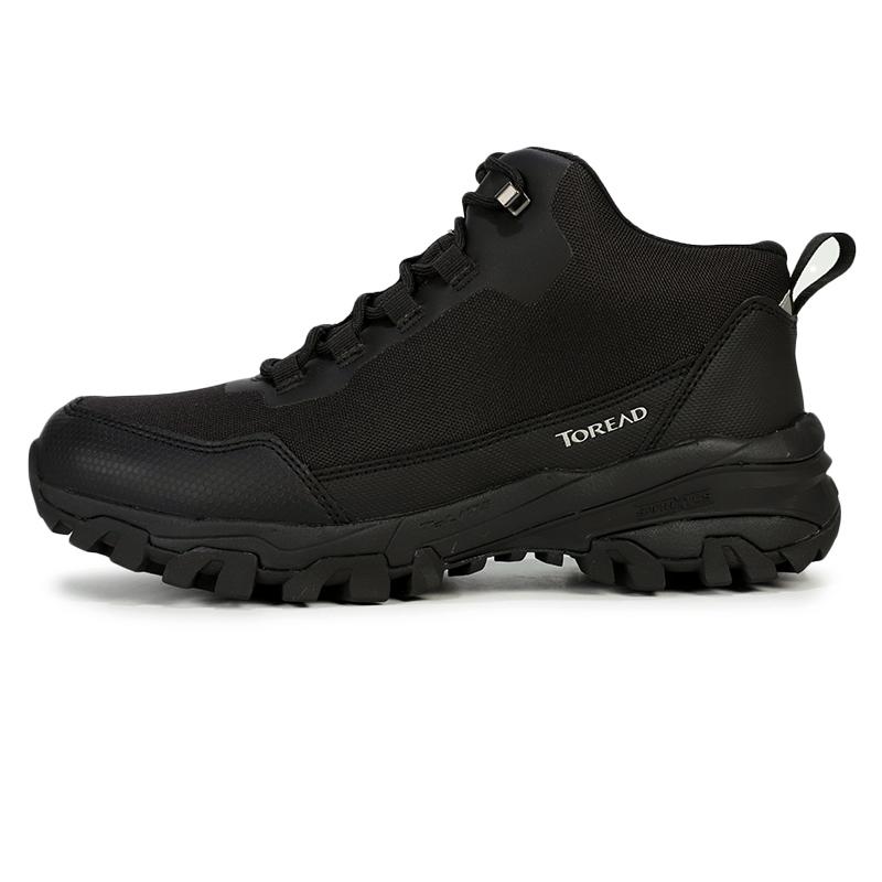 探路者男鞋2020新款运动鞋户外休闲鞋高帮越野鞋徒步鞋KFBG91371