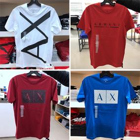 纽约大宝 Armani Exchange/阿玛尼AX 男士LOGO短袖圆领T恤
