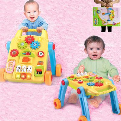 婴儿1岁2岁学步手推车