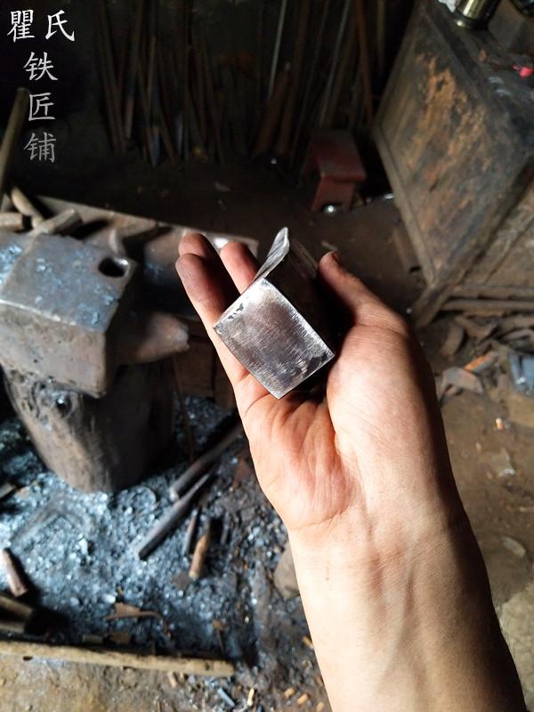 瞿氏铁匠铺木船斧头渔船斧木匠工具锻造斧手工一体锻打而成可定制