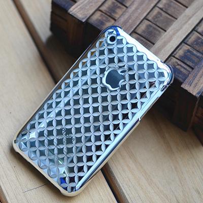 苹果3gs手机套外壳 iPhone3手机壳 3代保护壳电镀壳3G保护套硬壳