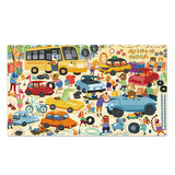 Mideer Children's Transport Car Hand-held Gift Box Puzzle Paper 104P Puzzle 3-4-6 years old