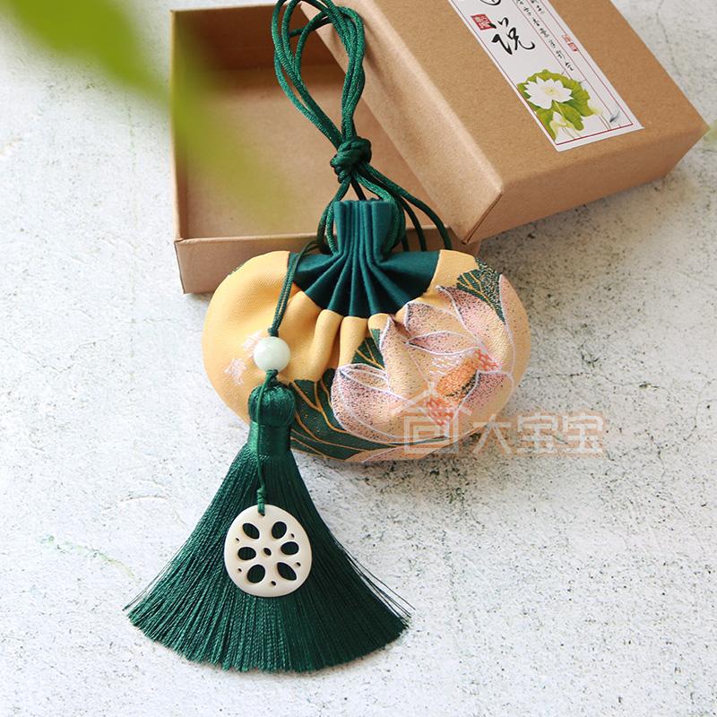 端午节香囊古风刺绣文玩荷包袋中国风礼品小香包汉服随身香袋空袋