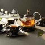 Nordic English afternoon tea tea set European tea set teapot teacup boiled fruit tea black tea day style