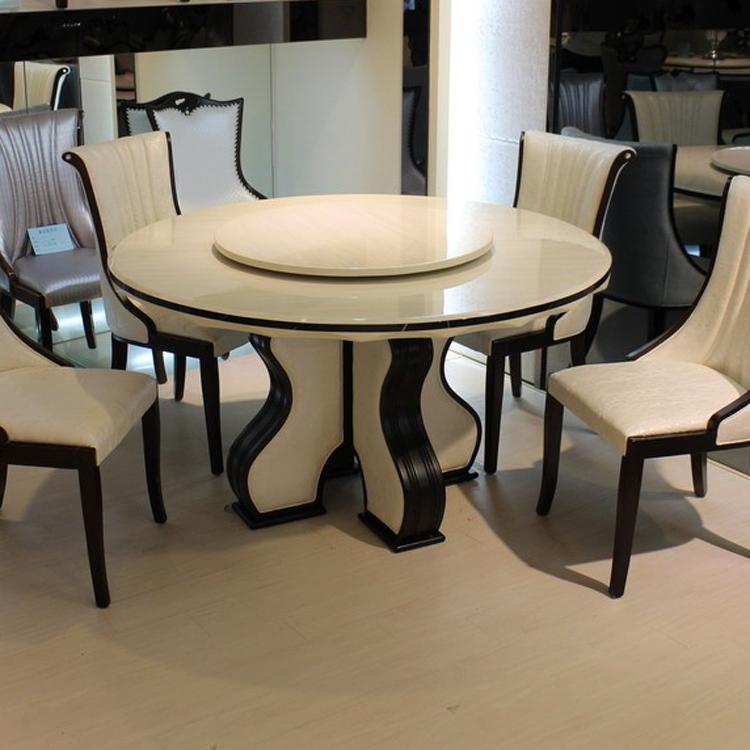 白色古典饭桌