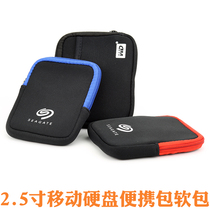 2.5 inch mobile Hard disk storage package soft bag hard disk bag Digital finishing bag hard disk soft package brand Digital bag