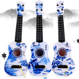 Children's guitar toy can play beginners simulation instrument piano boy girl baby small guitar ukulele