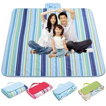 超大防潮垫野餐垫户外垫野炊帐篷垫防水加厚加宽双人野营垫沙滩垫