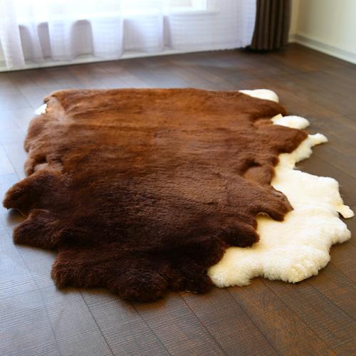澳尊整张短羊毛地毯客厅卧室床边地毯羊毛沙发垫羊剪绒整张羊皮