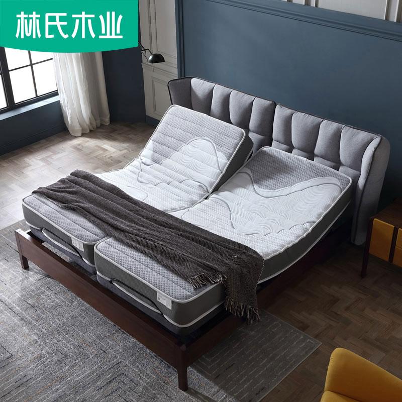 电动乳胶床垫1.8m床双人20cm厚10cm负离子独立袋装弹簧床垫CD029