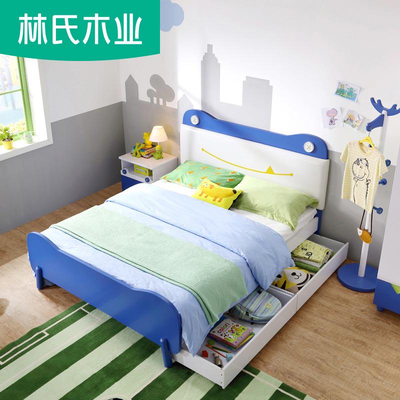 简约现代儿童床
