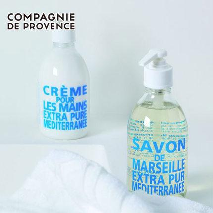 法国进口 LCDP兰西碧液体皂300/500ml保湿天然沐浴露洗手液儿童
