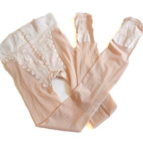 防勾丝天鹅绒连裤袜比基尼裆丝袜夏季薄款蝴蝶档防滑弹力女肉色袜