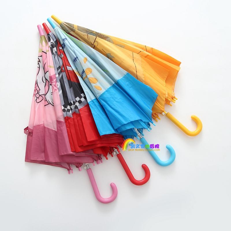 出口日本迪士尼印花儿童雨伞卡通童伞宝宝伞自动轻便学生伞