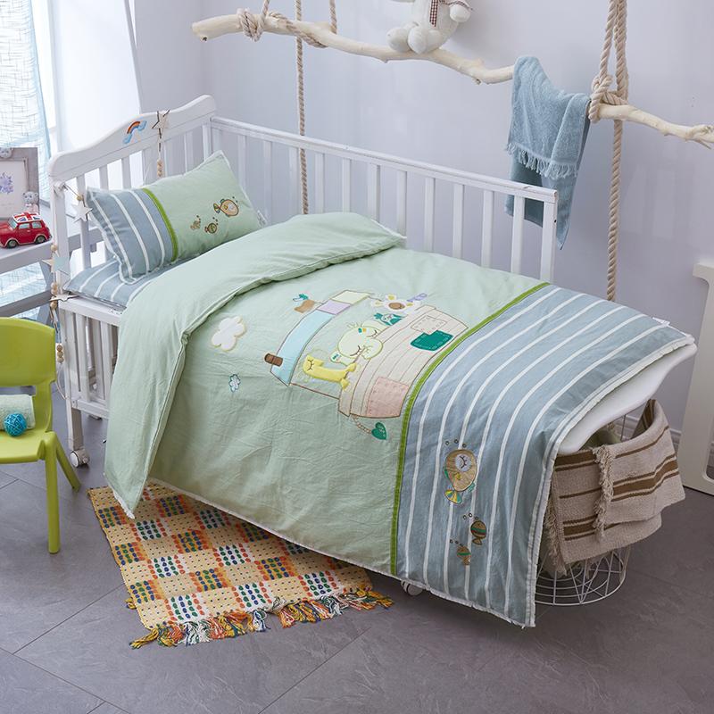 婴儿床品件套七件套