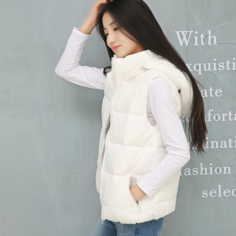 韩版加厚羽绒棉马甲