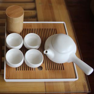 全季酒店茶具日式简约便携旅行功夫套装家用民宿logo定制顺丰包邮