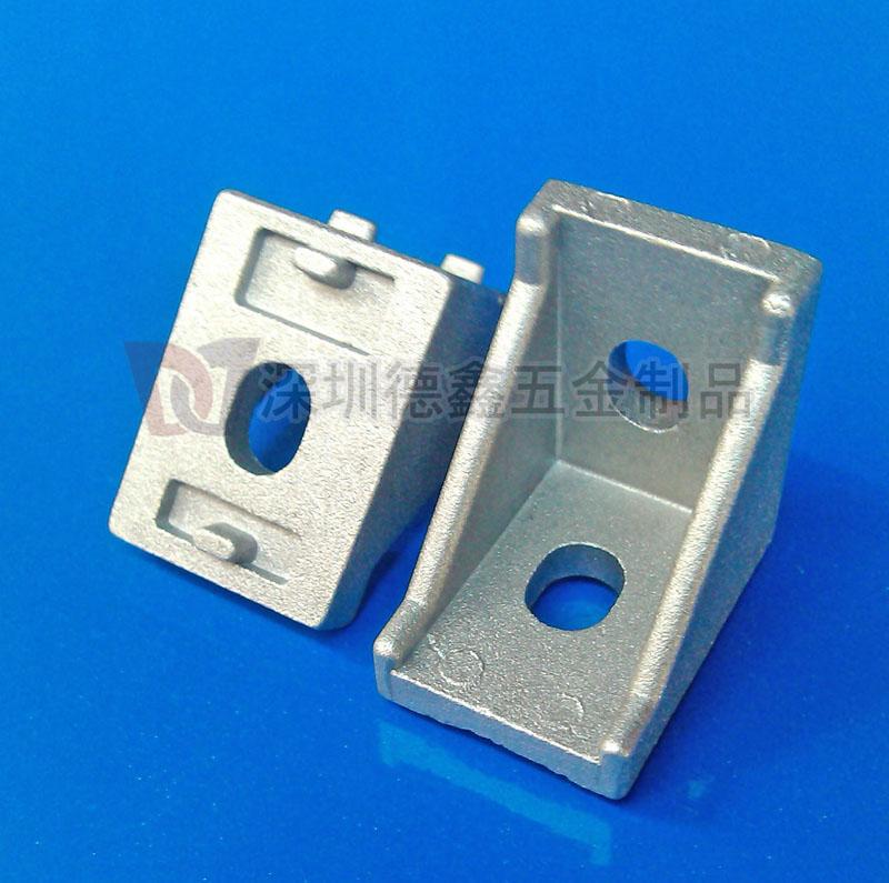 铝角件 2020角码 /工业铝型材配件20*28三角直角件/铝型材