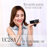 UNIC UC28A (T20) micro portable led mini projector