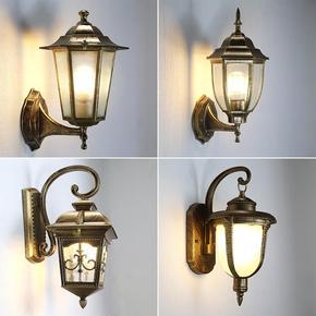 户外灯欧式壁灯创意现代简约室外防水庭院灯具复古景观灯热销包邮