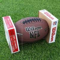 Wilson Wilson wins American football counters authentic 9th game ball 6th student ball NFL gold shield